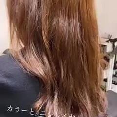 ミディアムレイヤー レイヤースタイル セミロング レイヤーカット ヘアスタイルや髪型の写真・画像