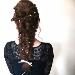 モテ髪 くるりんぱ 愛され ヘアアレンジ ヘアスタイルや髪型の写真・画像