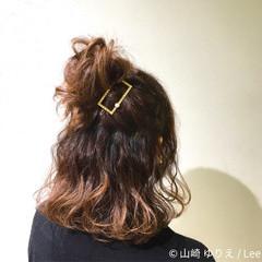 ショート 大人女子 色気 簡単ヘアアレンジ ヘアスタイルや髪型の写真・画像