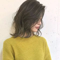 ハイライト ストリート ボブ 外国人風カラー ヘアスタイルや髪型の写真・画像