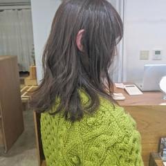 ハイライト ミディアム 外国人風カラー ナチュラル ヘアスタイルや髪型の写真・画像
