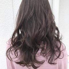 ナチュラル アッシュ 外国人風カラー ミディアム ヘアスタイルや髪型の写真・画像
