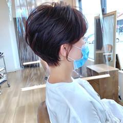 ショートヘア 大人ショート ショートボブ ショート ヘアスタイルや髪型の写真・画像