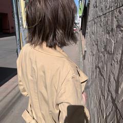 ショートボブ ボブ 切りっぱなしボブ アンニュイほつれヘア ヘアスタイルや髪型の写真・画像