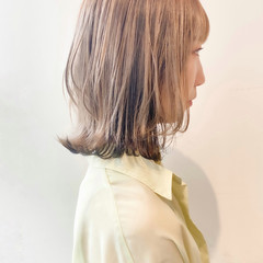切りっぱなしボブ ナチュラル ショートボブ ミニボブ ヘアスタイルや髪型の写真・画像