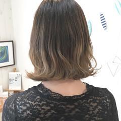 外国人風カラー ヘアアレンジ ナチュラル グラデーションカラー ヘアスタイルや髪型の写真・画像