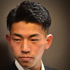 ショート メンズパーマ ベリーショート 刈り上げ ヘアスタイルや髪型の写真・画像