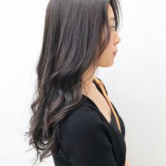 グラマラス パーマ 黒髪 デジタルパーマ ヘアスタイルや髪型の写真・画像
