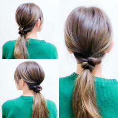 フェミニン ヘアアレンジ ショート セルフヘアアレンジ ヘアスタイルや髪型の写真・画像