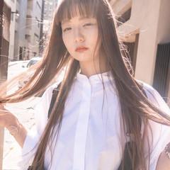 スロウカラーコンテスト ナチュラル可愛い ベージュ ヌーディベージュ ヘアスタイルや髪型の写真・画像