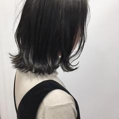 ストリート 暗髪 謝恩会 外ハネ ヘアスタイルや髪型の写真・画像
