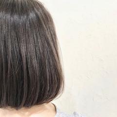 ナチュラル トリートメント ボブ 艶髪 ヘアスタイルや髪型の写真・画像