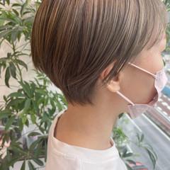 ショート ストリート 大人ショート ダブルカラー ヘアスタイルや髪型の写真・画像