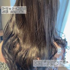 アンニュイほつれヘア ブリーチなし ロング 大人可愛い ヘアスタイルや髪型の写真・画像