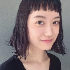 ワイドバング 外国人風 ピュア ナチュラル ヘアスタイルや髪型の写真・画像