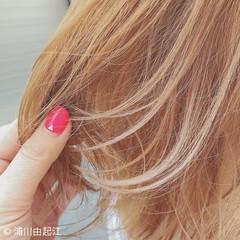 切りっぱなし 大人かわいい ゆるふわ 外国人風 ヘアスタイルや髪型の写真・画像