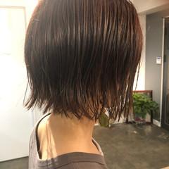 ミニボブ ボブ 地毛風カラー ナチュラル ヘアスタイルや髪型の写真・画像