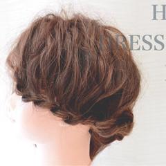 ショート フェミニン ヘアアレンジ 外国人風 ヘアスタイルや髪型の写真・画像
