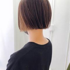 ベージュ ストリート ショート ショートボブ ヘアスタイルや髪型の写真・画像