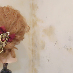 ゆるふわ 冬 ヘアアレンジ ロング ヘアスタイルや髪型の写真・画像