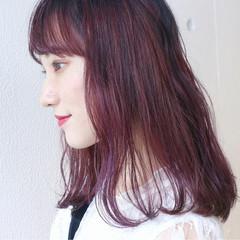 ブリーチ グラデーションカラー ダブルカラー ガーリー ヘアスタイルや髪型の写真・画像
