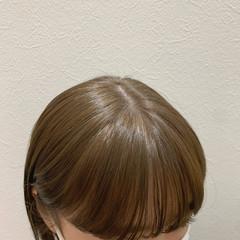オリーブベージュ ナチュラル オリーブカラー オリーブグレージュ ヘアスタイルや髪型の写真・画像