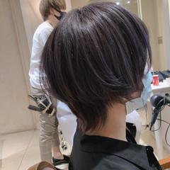 ストリート ショートヘア ショート マッシュウルフ ヘアスタイルや髪型の写真・画像
