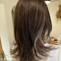 お出かけヘア インナーカラー グラデーションカラー 秋 ヘアスタイルや髪型の写真・画像