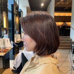 艶髪 抜け感 ボブ アンニュイほつれヘア ヘアスタイルや髪型の写真・画像