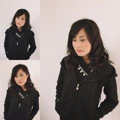 時短 簡単ヘアアレンジ 黒髪 大人女子 ヘアスタイルや髪型の写真・画像