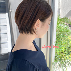 ショートヘア 小顔ショート 大人可愛い ショート ヘアスタイルや髪型の写真・画像
