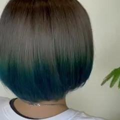 髪質改善トリートメント ストリート ボブ 髪質改善 ヘアスタイルや髪型の写真・画像