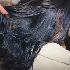 インナーカラー ヘアアレンジ ダブルカラー デザインカラー ヘアスタイルや髪型の写真・画像