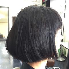 黒髪 ナチュラル 色気 ボブ ヘアスタイルや髪型の写真・画像