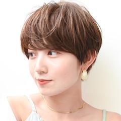 ショートヘア マッシュショート 大人ショート ショート ヘアスタイルや髪型の写真・画像