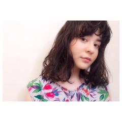 ガーリー アンニュイ デート ゆるふわ ヘアスタイルや髪型の写真・画像