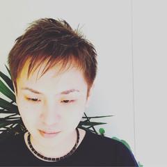 アッシュ ショート モテ髪 モード ヘアスタイルや髪型の写真・画像