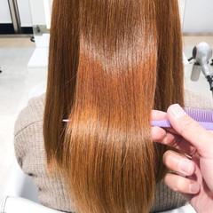 髪質改善トリートメント 髪質改善 ストレート 縮毛矯正 ヘアスタイルや髪型の写真・画像