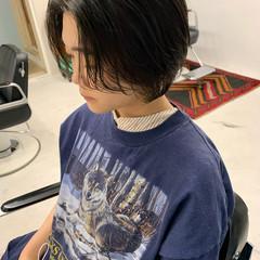 ミニボブ ブリーチカラー ショート ショートボブ ヘアスタイルや髪型の写真・画像