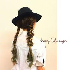 ヘアアレンジ 編み込み かわいい ブライダル ヘアスタイルや髪型の写真・画像