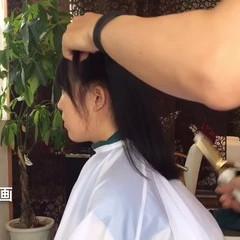 簡単ヘアアレンジ ゆるふわ セミロング フェミニン ヘアスタイルや髪型の写真・画像
