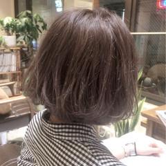 グラデーションカラー グレージュ アッシュグレージュ ストリート ヘアスタイルや髪型の写真・画像