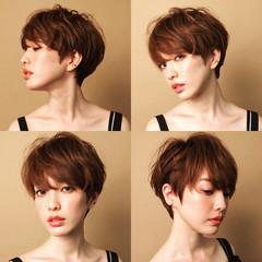 ナチュラル 小顔 大人女子 似合わせ ヘアスタイルや髪型の写真・画像