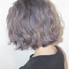 ハイライト モード ボブ ハイトーン ヘアスタイルや髪型の写真・画像