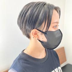 ショートヘア ナチュラル 透明感カラー 大人ショート ヘアスタイルや髪型の写真・画像