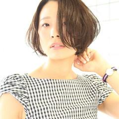 リップライン ボブ グラデーションカラー 大人かわいい ヘアスタイルや髪型の写真・画像