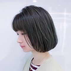 ハイライト デート ナチュラル レイヤー ヘアスタイルや髪型の写真・画像