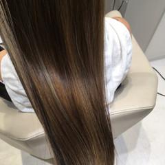 ストレート ローライト ロング 艶髪 ヘアスタイルや髪型の写真・画像