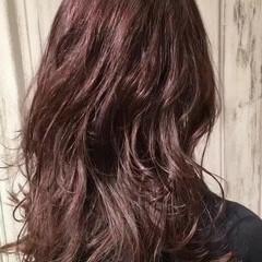 ナチュラル セミロング 透明感 艶髪 ヘアスタイルや髪型の写真・画像