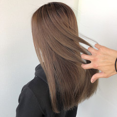 グラデーションカラー 髪質改善トリートメント コンサバ バレイヤージュ ヘアスタイルや髪型の写真・画像